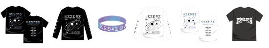 ISSUES JAPAN TOUR 2017 OFFICIAL GOODS